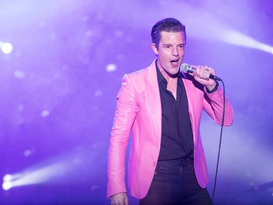 The Killers perform at the Lost Lake Festival in Phoenix,