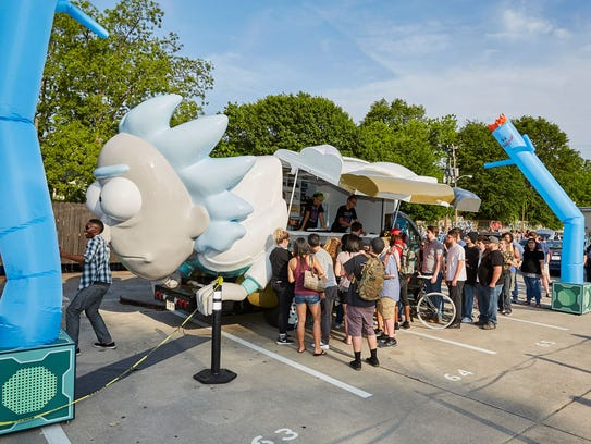 The Rickmobile will make a stop in Knoxville at the
