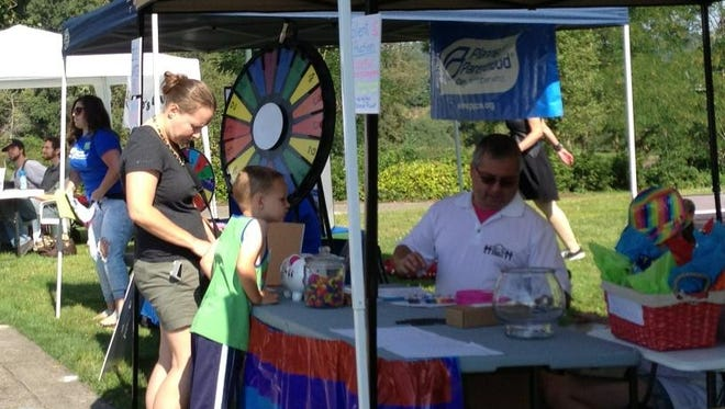 Capitol Pride kicked off this afternoon at Salem's Riverfront Park.