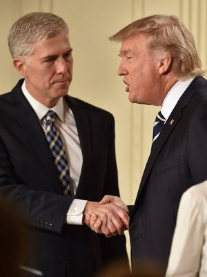 President Trump nominates Neil Gorsuch for the Supreme Court on Jan. 31, 2017.