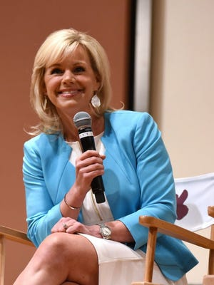 Gretchen Carlson speaks during Women at the Top: Female Empowerment in Media Panel at the 2016 Greenwich International Film Festival on June 12, 2016 in Greenwich, Conn.