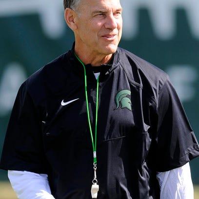 MSU head coach Mark Dantonio
