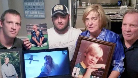 Ten days after the death of Rob Bironas, his brothers, Greg and Blake, and his parents, Anne and Larry, share stories of happy times at Greg's home in Louisville, Ky. Sister Mitzi Stevens joined the conversation via Skype.