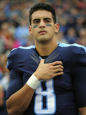 Titans quarterback Marcus Mariota is coming off a strong rookie season.