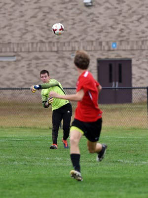 River View keeper Jorn Hocter helped lead the Black Bears to a 19-win season and a berth in the Division II regional tournament.