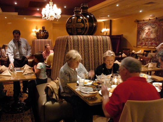 In 2006, diners flocked to the Palace of Asia restaurant