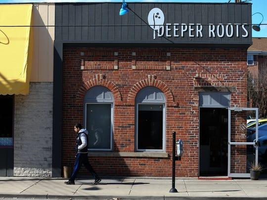 Deeper Roots coffee shop on Madison Road in Oakley,