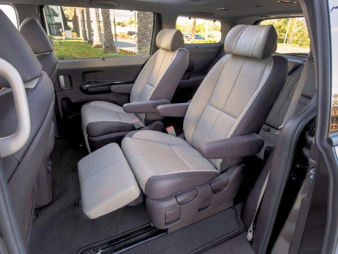 Test Drive: Kia Sedona van has 1st-class seating