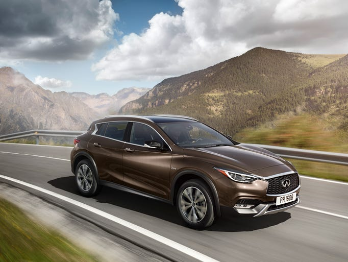 The 2016  Infiniti QX30 premium active crossover is