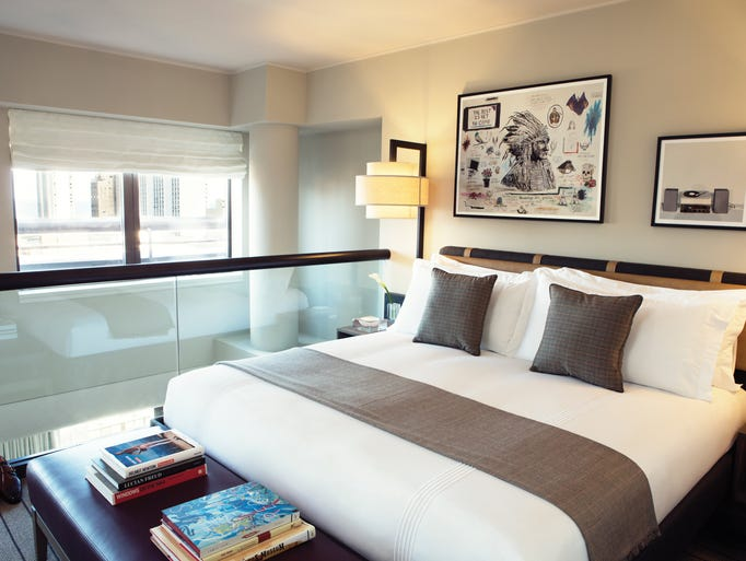Nouvelle g n ration the 48 most expensive hotel rooms in for Trendiest hotels in chicago