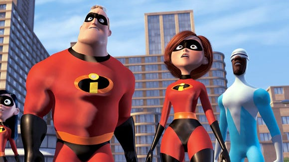 It's the super powers of mom, Elastigirl, that the kids need, when things go missing in the house.