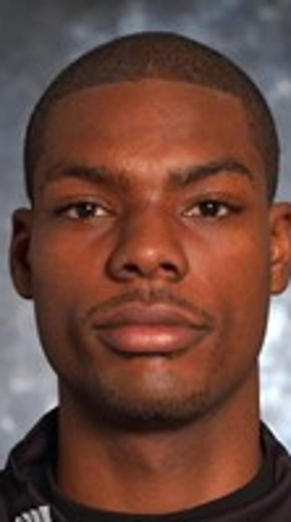 Former New Mexico State basketball player Justin Hawkins,
