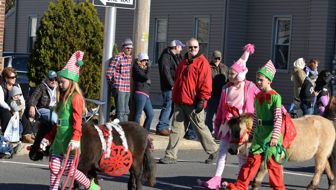 "The Hoof N Horns 4-H Club of Lebanon County presents the ""Island of Misfit Toys"" from ""Rudolf the Red-Nosed Reindeer"" story at the Community of Lebanon Association's 39th annual Holiday Parade held on Saturday, Nov. 21, 2015."