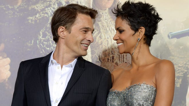 Halle Berry and Olivier Martinez in October 2012.