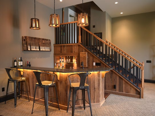 The Wiesner Home Features An Entertainment Room Interior Design Nashville TN O