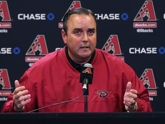 Derrick Hall, presidente de los D-backs.