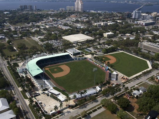 Various plans have called for City of Palms Park to be turned into an Olympic-caliber swimming pool or cut in half since the Boston Red Sox last played Spring Training there in 2011.