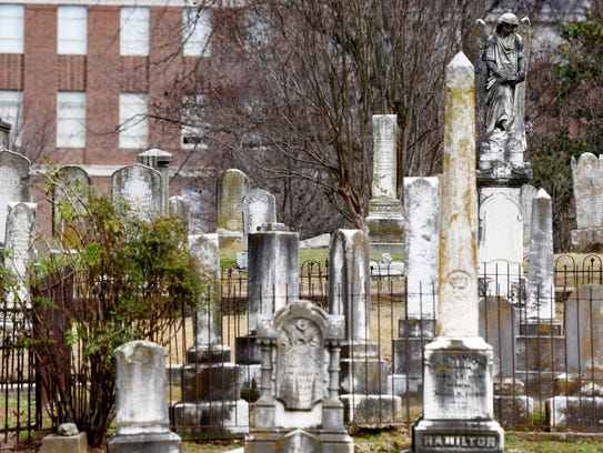 Oakland Cemetery is more than 150 years old and one