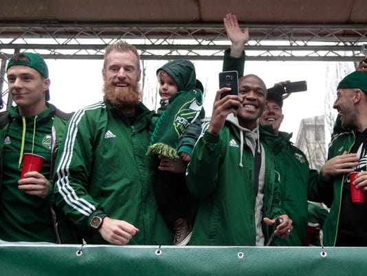 Will Johnson, Nat Borchers, Lincoln Borchers, Darlington Nagbe, Pablo Moreira