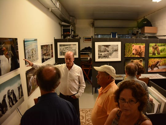 Photographer Dennis Holt has traveled the world for his photography. With over three dozen galleries and studios, the Naples Art District off Pine Ridge Road hosts Art Alive on the first Wednesday evening of each month, offering complimentary wine, hors d'oeuvres and conversation.