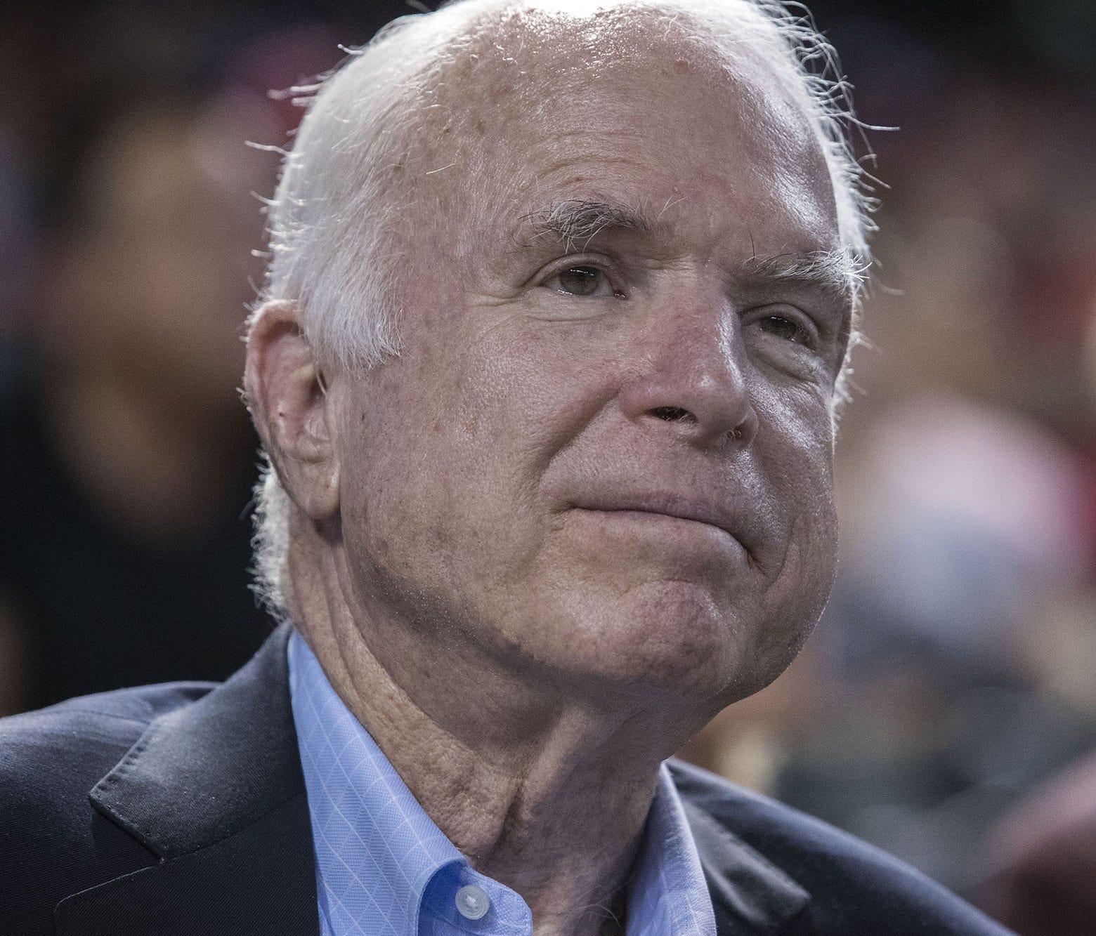 In his forthcoming memoir, Sen. John McCain, R-Ariz., laments a