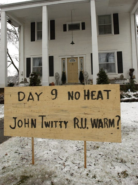 SIGN AT A HOME
