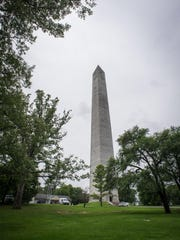 The Jefferson Davis monument in Fairview, Ky.