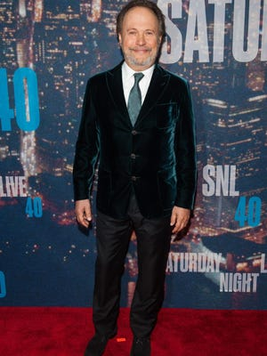 Billy Crystal attends the SNL 40th Anniversary Celebration at Rockefeller Plaza on February 15, 2015 in New York City.