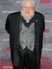 Author and Bayonne native George R.R. Martin attends