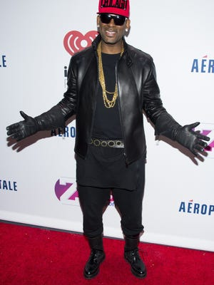 R. Kelly at the 2013 Jingle Ball in New York.