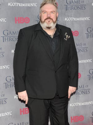 "Actor Kristian Nairn (""Game of Thrones"") is 39."