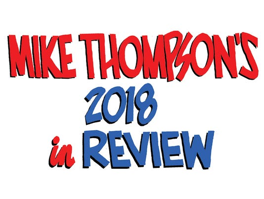 Mike Thompson's year in Review