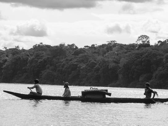"Oscar-nominated Colombian film ""Embrace of the Serpent"""