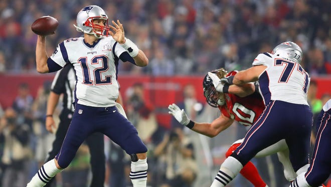 Tom Brady, a four-time Super Bowl MVP, turns 40 years old on Aug. 3.