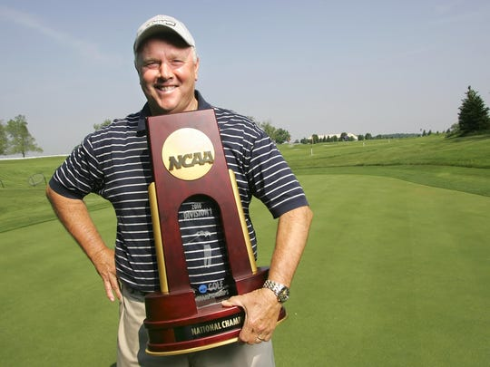 Devon Brouse coached the Purdue women's golf team to the 2010 NCAA Championship.