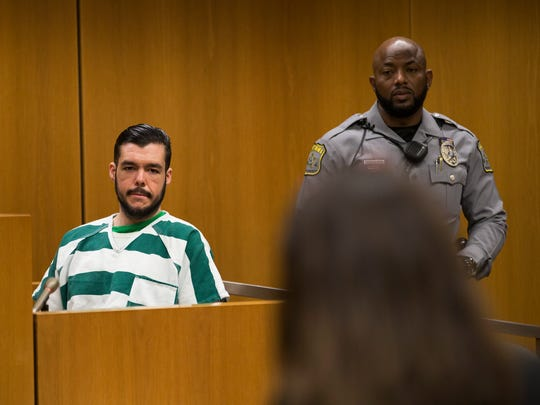Anthony M. Srong pleaded guilty to the first degree murder of Frank A Campagna during an argument while watching a sporting event on TV.