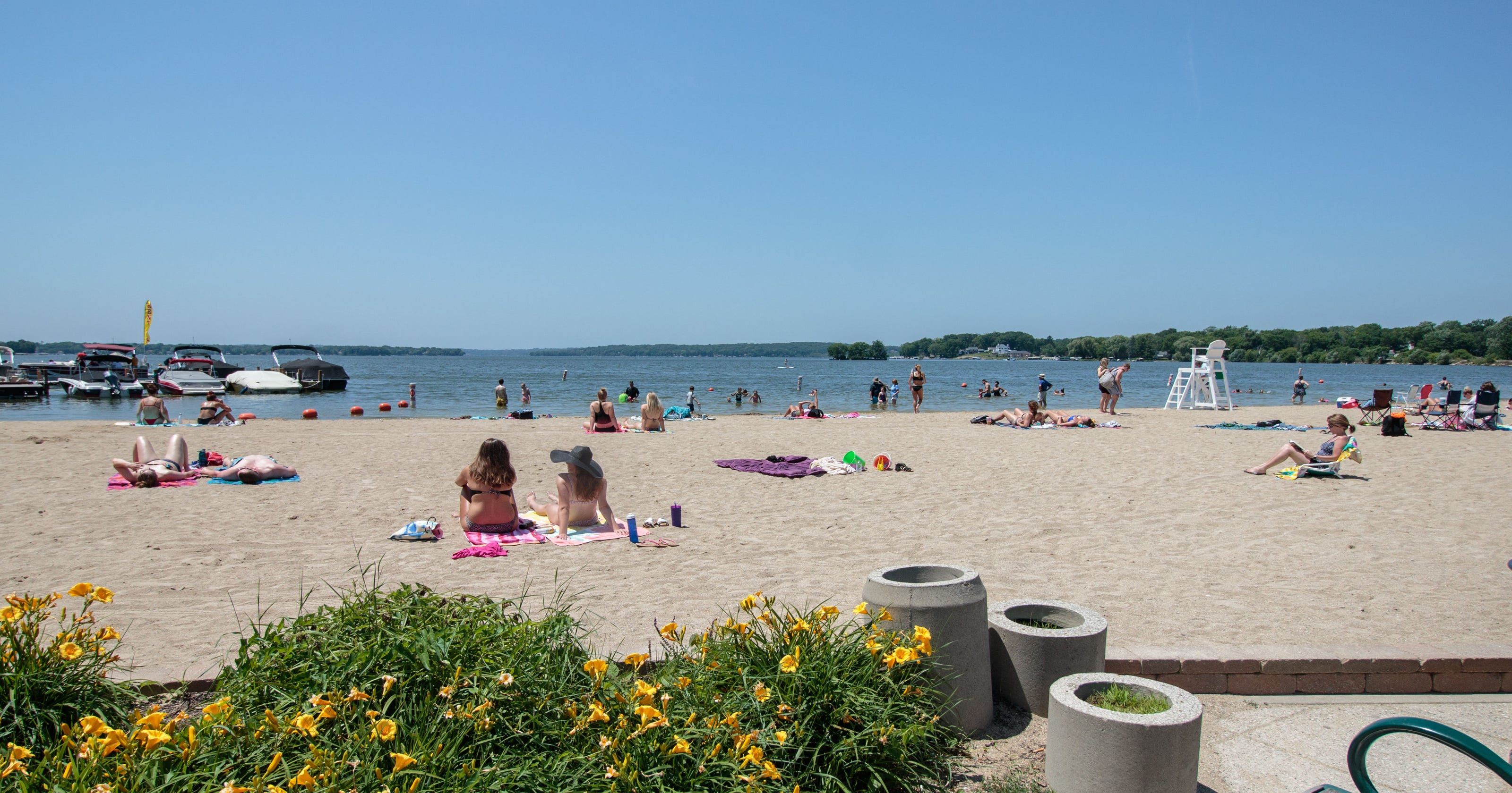 Here S How To Access Pewaukee Lakefront Park With Your Boat