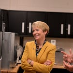 Ivy Tech president-elect tours campus