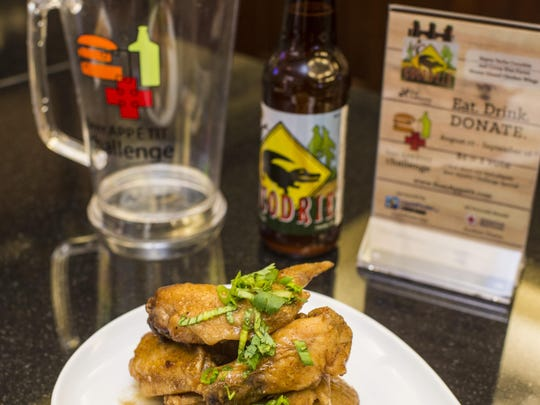 Saint Street Inn is featuring honey-glazed chicken