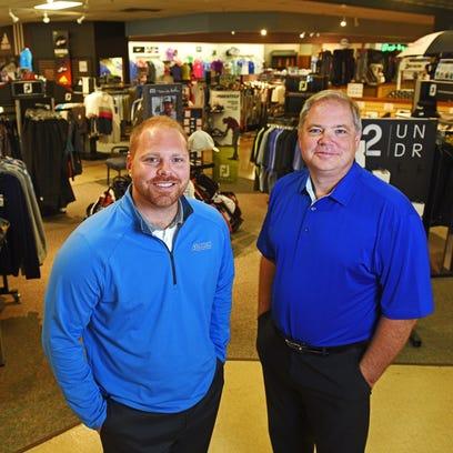 Ryan and Dave Austad, of Austad's Golf.