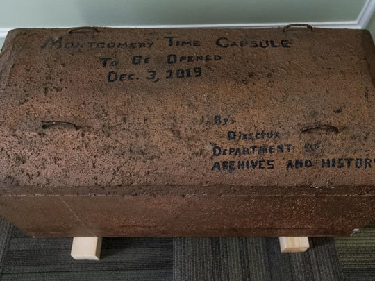 This 1969 time capsule will be opened Tuesday, on the 200th anniversary of the incorporation of Montgomery, Ala.