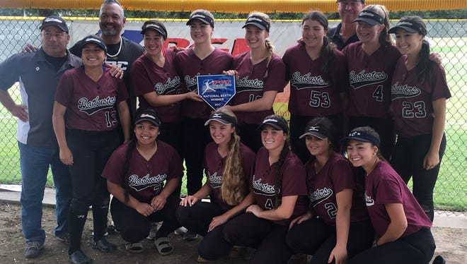 Led by several area softball players, the Batbusters Zappia/Cheek went 5-0 at a Fresno qualifier to advance to the 2017 16U PGF Softball Premier Nationals in Huntington Beach, July 29-Aug. 5.