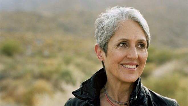 Joan Baez will perform this month in Englewood and Red Bank.
