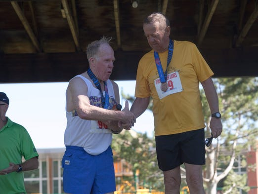 The Utah Summer Games held their 10K on Friday June 13, 2014. Several athletes competed in the event.