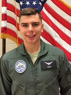 Noah Johnson, a senior at Republic High school, will report this summer to the U.S. Air Force Academy.