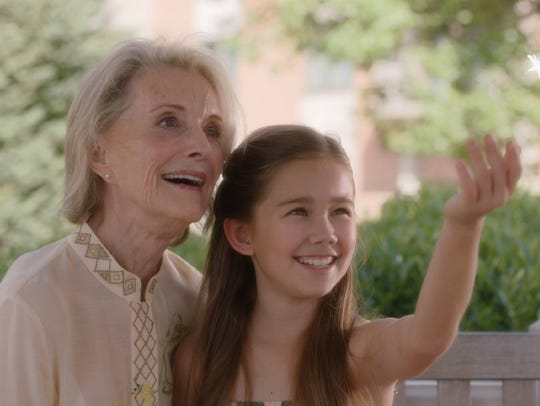 Constance Towers and Brooklyn Rae Silzer in 'The Storyteller'
