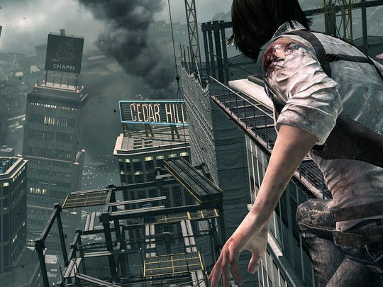 """No gun? No problem. Maybe. Survive zombies armed mostly with your flashlight in """"The Evil Within: The Consequence"""" DLC game."""