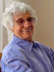 Blazena Hrabetova, 92, still lives in the same region