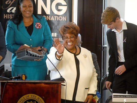 Mayor Jane Williams Warren