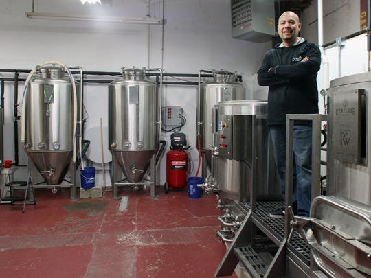 The future of Hunterdon County's tourist economy may be in its local breweries and vineyards. Carl Alfaro owner and master brewer opened Conclave Brewery in Raritan Township on July 7 and has been developing a loyal following since then, he is photographed on Wednesday December 2, 2015